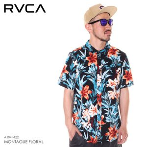 SALE セール RVCA ルーカ シャツ メンズ MONTAGUE FLORAL 2019年春夏|3direct