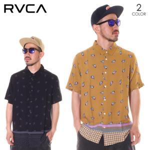 SALE セール RVCA ルーカ シャツ メンズ LUX PAISLEY 2019年春夏|3direct