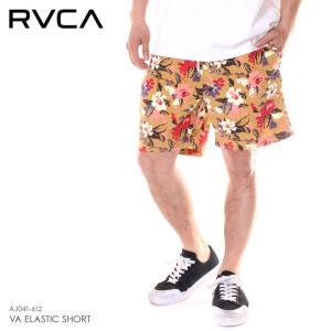 【ワイワイSALE】 RVCA ルーカ ハーフパンツ メンズ VA ELASTIC SHORT 2019春夏|3direct