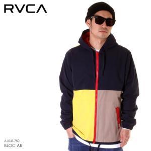 RVCA ルーカ ジャケット メンズ BLOC AR AJ041-750 2019春夏|3direct