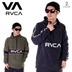 RVCA ルーカ ジャケット メンズ ADAPTER ANORAK AJ041-753 2019春夏|3direct