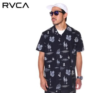 SALE セール RVCA ルーカ シャツ メンズ HULA GUNZ SS|3direct