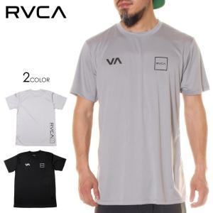 SALE セール RVCA ルーカ ラッシュガード メンズ RVCA LANE SS 2020春夏|3direct