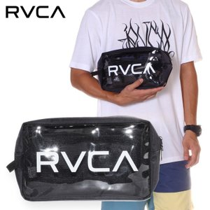 SALE セール RVCA ルーカ バッグ メンズ RVCA CLEAR POUCH 2019春夏|3direct