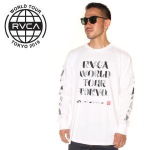 RVCA ルーカ ロンT メンズ MHAK TOKYO 2019春夏|3direct