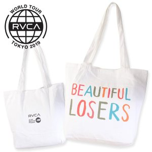 RVCA ルーカ トートバッグ BEAUTIFUL LOSERS TOTE|3direct