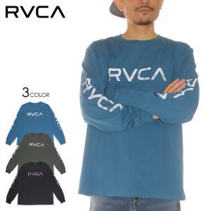 RVCA ルーカ Tシャツ ロンT メンズ BIG PIXEL LS 2020秋冬|3direct