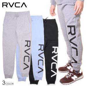 RVCA ルーカ スウェットパンツ メンズ BIG RVCA PANT 2020秋冬|3direct