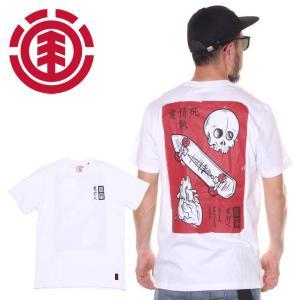 SALE セール ELEMENT エレメント Tシャツ メンズ LOVE PASSION DEATH SS 2020春夏|3direct