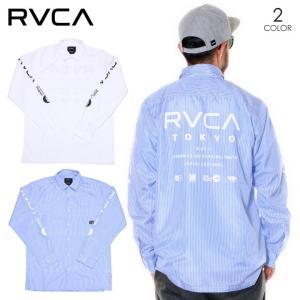 RVCA ルーカ シャツ メンズ STAFF LS SHIRTS 2020春夏|3direct