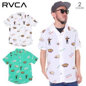 SALE セール RVCA ルーカ シャツ メンズ HOT FUDGE SS 2020年春夏|3direct