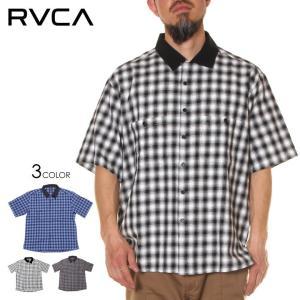 SALE セール RVCA ルーカ シャツ メンズ CHECK SS SHIRTS 2020年春夏|3direct