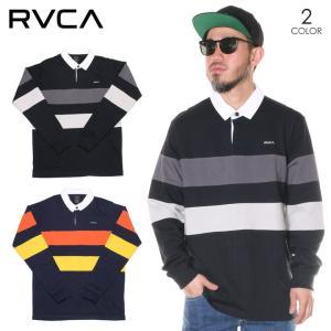 RVCA ルーカ ポロシャツ メンズ JOHNSY LS POLO 2020春夏|3direct