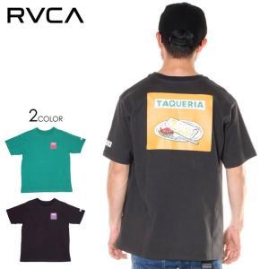SALE セール RVCA ルーカ Tシャツ メンズ TAQUERIA SS|3direct