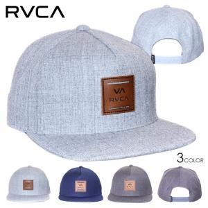 RVCA ルーカ キャップ メンズ VA ALL THE WAY SNAPBACK 2020春夏|3direct