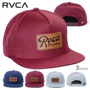 RVCA ルーカ キャップ メンズ STROKES SNAPBACK 2020春夏|3direct