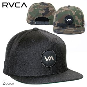 RVCA ルーカ キャップ メンズ VA PATCH SNAPBACK 2020春夏|3direct
