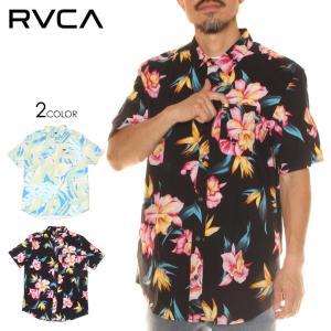SALE セール RVCA ルーカ シャツ メンズ AKORA FLORAL SS 2020年春夏|3direct