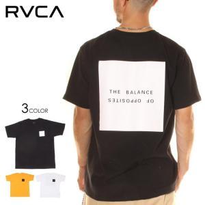 SALE セール RVCA ルーカ Tシャツ メンズ SQUARE BALANCE TEE 2020春夏|3direct