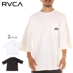SALE セール RVCA ルーカ Tシャツ メンズ RUM POCKET TEE 2020春夏|3direct
