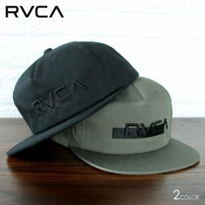 RVCA ルーカ キャップ メンズ OVERLAY SNAPBACK 2020春夏|3direct