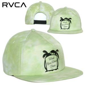 RVCA ルーカ キャップ メンズ WISH SNAPBACK 2020春夏|3direct