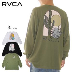 RVCA ルーカ ロンT メンズ ブランド おすすめ おしゃれ レディース バックプリント ロゴT ストリート サーフ サーフィン MOJAVE LT BB042-059|3direct