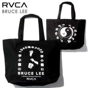 SALE セール RVCA ルーカ トートバッグ メンズ RVCA x BRUCE LEE EIGHTY YEARS TOTE 2021春 3direct