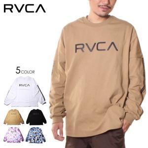 SALE セール RVCA ルーカ Tシャツ ロンT メンズ BIG RVCA LT 2021春|3direct