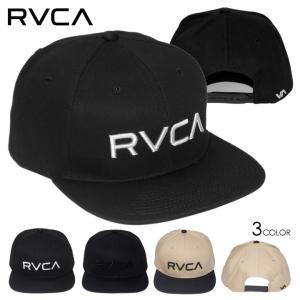 SALE セール RVCA キャップ 帽子 スナップバック CAP ルーカ ルカ メンズ レディース ストリート サーフ スケート RVCA TWILL SNAPBACK BB041-919 3direct