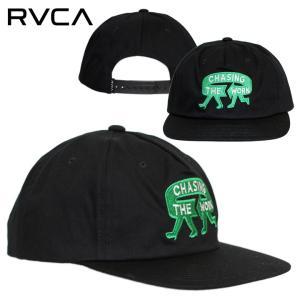 SALE セール RVCA キャップ 帽子 スナップバック ルーカ ルカ メンズ レディース ストリート サーフ スケート ブラック ESPO SNAPBACK BB041-926 3direct