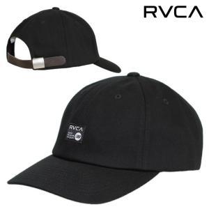 SALE セール RVCA キャップ 帽子 ストラップバック ロー ルーカ ルカ メンズ レディース ストリート サーフ スケート ブラック ANP CAP BB041-927 3direct