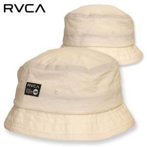SALE セール RVCA ハット 帽子 バケット HAT ルーカ ルカ メンズ レディース ストリート サーフ スケート ホワイト ANP BUCKET BB041-934 3direct