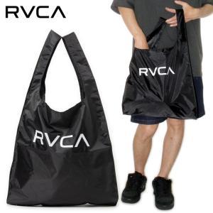 SALE セール RVCA エコバッグ トート パッカブル ルーカ ルカ メンズ レディース ストリート サーフ スケート ブラック RVCA ECO BAG BB041-937 3direct