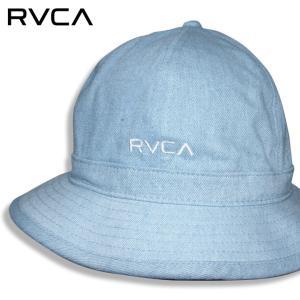 RVCA ハット メンズ ブランド HAT レディース ベルハット ブリーチデニム ロゴ 刺繍 ストリート サーフ サーフィン RVCA BELL HAT BB041-997 3direct