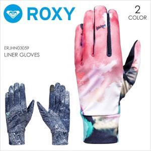 ROXY スノー グローブ レディース LINER GLOVES 2017-2018 秋冬 ERJHN03059 ネイビー/ホワイト S/M/L|3direct