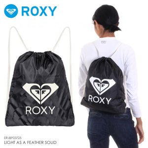 ROXY ロキシー リュック レディース LIGHT AS A FEATHER SOLID ERJBP03725 2018秋冬 ブラック 1.3L|3direct