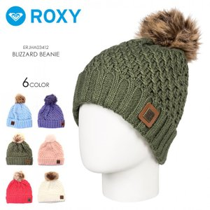 ROXY ロキシー ビーニー レディース BLIZZARD BEANIE ERJHA03412|3direct