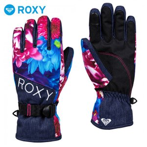 ROXY ロキシー グローブ スノーボード レディース M / MIKA NINAGAWA X ROXY JETTY GLOVES ERJHN03111|3direct