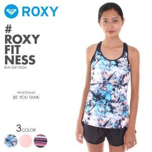 ROXY ロキシー フィットネスウェア レディース BE YOU TANK ERJKT03445 2018秋冬 ブラック/ピンク/ネイビー XS/S|3direct
