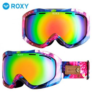 ROXY ロキシー ゴーグル スノーボード レディース M / MIKA NINAGAWA X ROXY SUNSET ART ERJTG03081|3direct