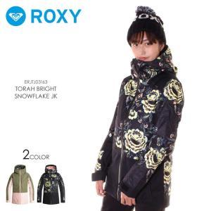 ROXY ロキシー スノーボードウェア ジャケット レディース TORAH BRIGHT SNOWFLAKE JK ERJTJ03163|3direct