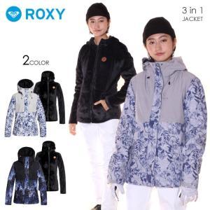 ROXY ロキシー スノーボードウェア ジャケット レディース ROXY JETTY 3N1 JK 2019-20 秋冬|3direct