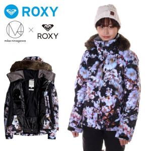 ROXY ロキシー スノーボードウェア ジャケット レディース M / MIKA NINAGAWA X ROXY JET SKI PREMIUM ERJTJ03186|3direct