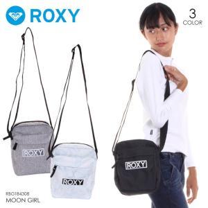 ROXY ロキシー ショルダーバッグ レディース MOON GIRL RBG184308 2018秋冬 ブラック/グレー/ホワイト 3.7L|3direct