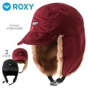 ROXY ロキシー キャップ レディース MY FLIGHT RHT184325 2018秋冬 ブラック/ワインレッド ワンサイズ|3direct