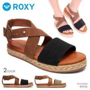 ROXY サンダル レディース RAYSA ARJL200623 2018春 ブラック/ベージュ 23cm/24cm/25cm|3direct
