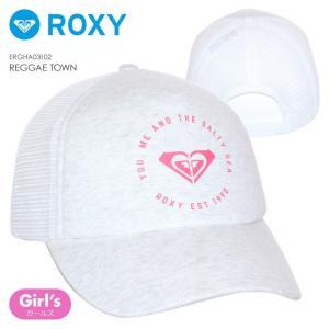 ROXY キャップ キッズ REGGAE TOWN 2018春 ERGHA03102 グレー ワンサイズ|3direct
