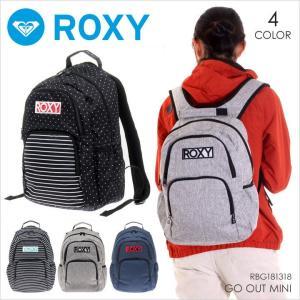 ROXY リュック レディース GO OUT MINI 2018 春 RBG181318 13.6L ブラック/ホワイト/ネイビー/グレー|3direct