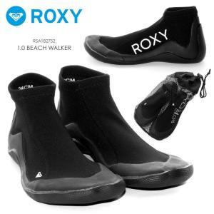 ROXY マリンシューズ レディース 1.0 BEACH WALKER RSA182752 2018夏 ブラック 23cm/24cm/25cm|3direct